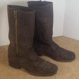 Frye ziper boots